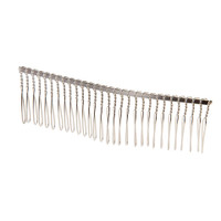 Victoria Lynn™ Hair Comb - Silver Wire - 4.25 inches