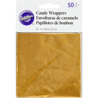 GOLD FOIL WRAPPERS