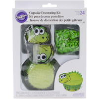 Cupcake Decorating Kit Makes 24 – Dinosaur