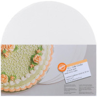"Cake Boards – 12"" Round White 8/Pkg"