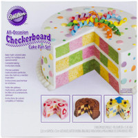 Checkerboard Cake Pan Kit