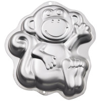 Novelty Cake Pan – Monkey