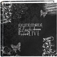 "Pioneer 2-Up Chalkboard Print Album 4""X6"" – Remember"