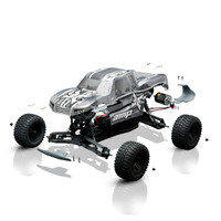 1/10 AMP MT 2WD Monster Truck Build To Drive Kit