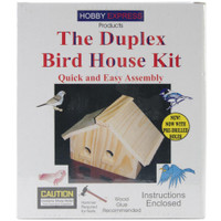 Duplex Bird House