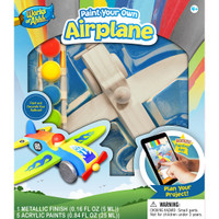 AIRPLANE WOOD PAINT KIT