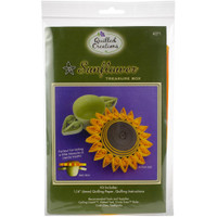 Sunflower Treasure Box Quilling Kit