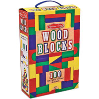 Wood Blocks 100/Pkg