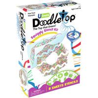 UCreate Doodletop Squiggly Stencil Kit – Sweets