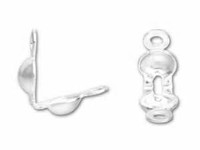 Sterling Silver Clam Shells - 4 piece pack