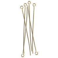 14k Gold Filled 1.5 inch Eyepin - 2 piece pack