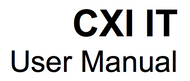 User's Manual for CXI IT.