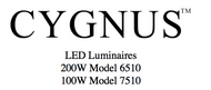 User Manual for Cygnus LED fixtures. 200 Watt is 6510, 100 Watt is 7510