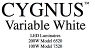 User Manual for Cygnus Variable White LED fixtures.
