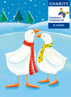 CC90021CH - Geese (6 charity christmas packs) 20% Discount
