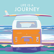 BB78641 - Life is a Journey (6 blank cards)