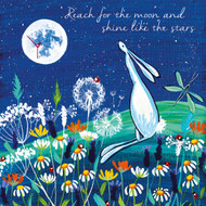 KA82796 - Reach for the moon and shine like the stars (6 blank cards)