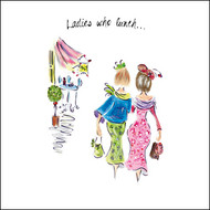 TG39091 - Ladies who Lunch (6 blank cards)