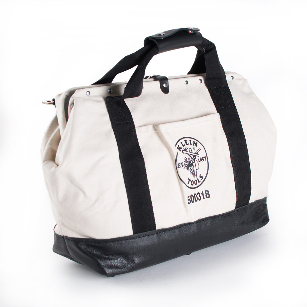 Canvas Pocketed Toolbag 18""
