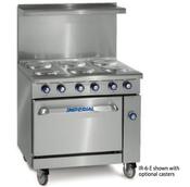 "36"" 6 Burner Electric Range & Standard Oven IR-6-E (NEW) #4573"