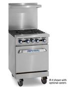 "24"" 4 Burner Range & Standard Oven IR-4 (NEW) #4580"
