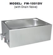 Food Warmer w/ Drain Valve UNIWORLD FW-1001DV (NEW) #4594
