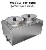 Double Food Warmer UNIWORLD FW-1002 (NEW) #4595