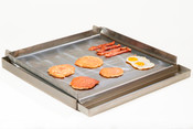 4-Burner Lift Off Griddle Top & Grease Trap UNIWORLD UGT-MC24 (NEW) #4600