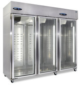 3 Glass Door Refrigerator CR3S-FGE #5732 FREE SHIPPING