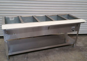 5 Well LP Propane Steam Table Wet Bath WB305-LP AEROHOT (NEW) #5943