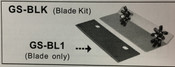 Grill / Griddle Scraper Replacement Blades (6 Pack) Uniworld GS-BL6 NEW #6204