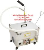 40 LB Portable Fryer Oil Filter OF-40 Pump NEW  #6323