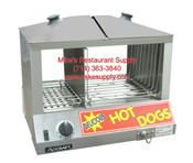 Hot Dog Steamer Electric Table Top 120V Bun Storage  HDS-1200W NEW #6324