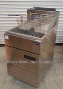 75 LB S/S Gas Fryer ATFS-75 (NEW) #2554