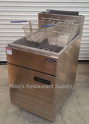 75 LB S/S Fryer LP ATFS-75 (NEW) #3055