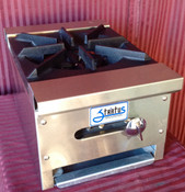 "12"" Single Burner Hot Plate SHP-12-1 NG Gas NEW #1052"