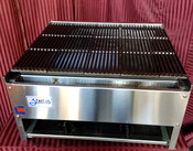 "24"" Lava Rock Char Broiler Grill SCB-24 NG Gas (NEW) #1120"