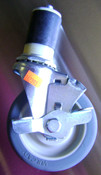 """4"""" Swivel Caster Wheel w/Lock for Tables/Stands (NEW) #1200"""