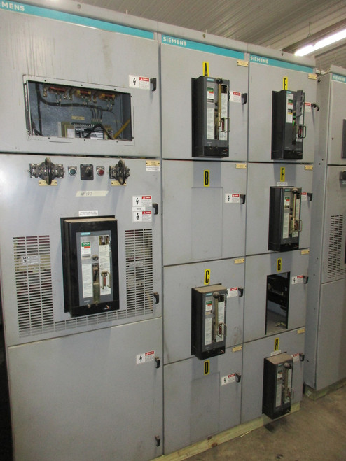 Siemens 480/277V Switchgear (#107)
