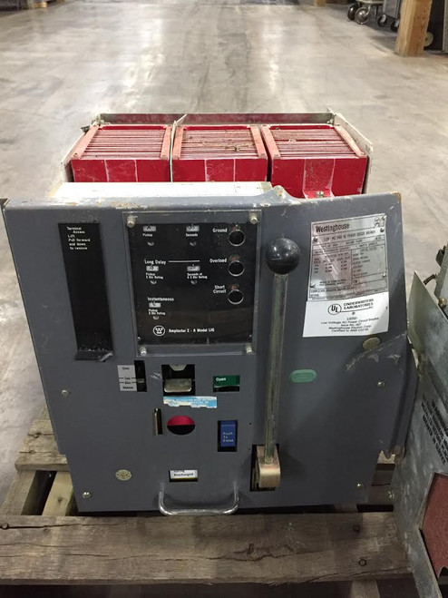DS-206H Westinghouse 800A MO/DO 400A Cont. Current LIG Air Circuit Breaker (Parts Breaker)