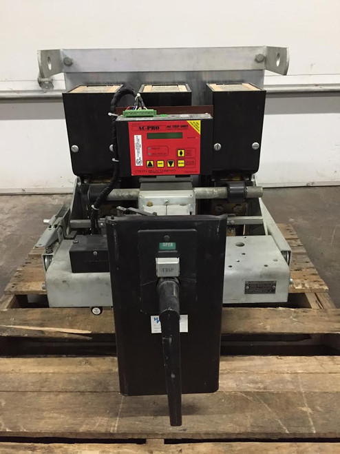 DB-50 Westinghouse 1600A MO/DO LSIG Air Circuit Breaker W/AC-PRO