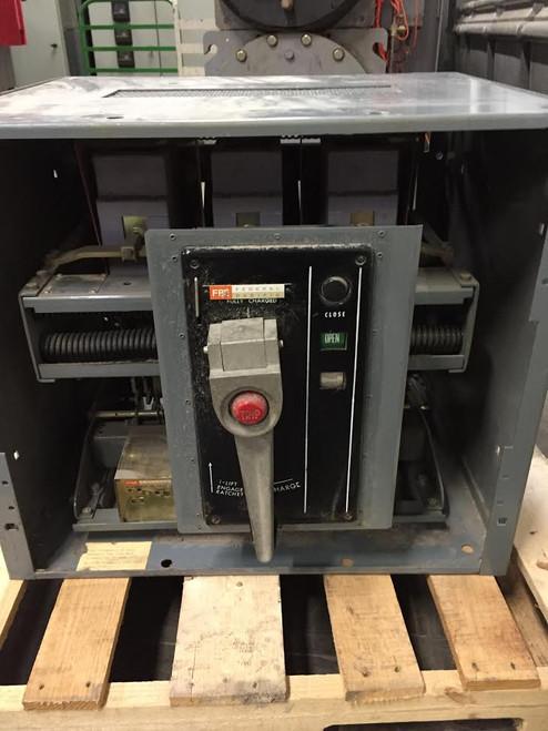 FP-50 Federal Pacific 2000A MO/FM LI Air Circuit Breaker W/Cubicle