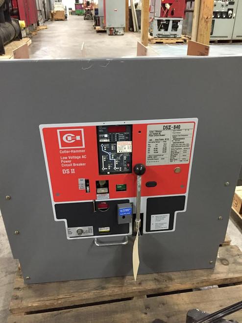 DSII-840 Cutler-Hammer 4000A EO/DO LSG Air Circuit Breaker