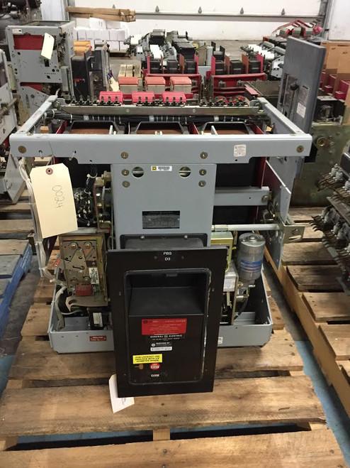AKR-10F-100 GE 4000A EO/DO Air Circuit Breaker (No Trip)