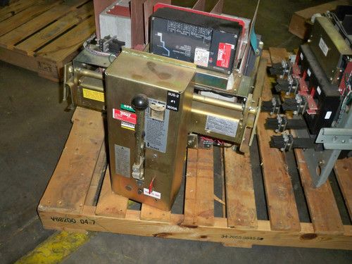 LA-1600A Allis-Chalmers 1600A MO/DO LSI Air Circuit Breaker