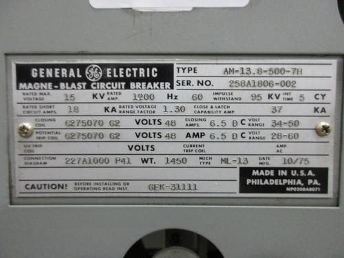 IMG_0930__50929.1439992310?c=2 am 13 8 500 7h ge magne blast 1200a 15kv air circuit breaker magne blast wiring diagram at honlapkeszites.co
