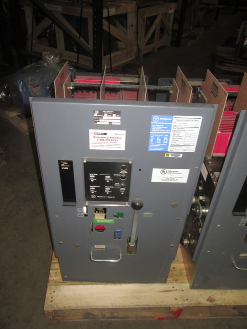 DS-632 Westinghouse 3200A EO/DO LSI Air Circuit Breaker