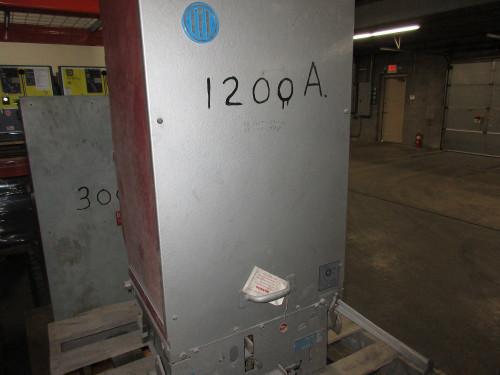 5HK ITE 1200A 4.76KV EO/DO Air Circuit Breaker (230-AC Closing Volts)