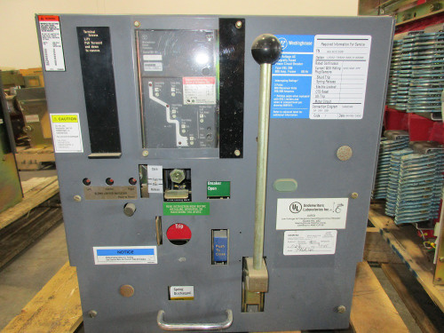 DSL-206 Westinghouse 800A MO/DO 1200A Fuses LSI Air Circuit Breaker