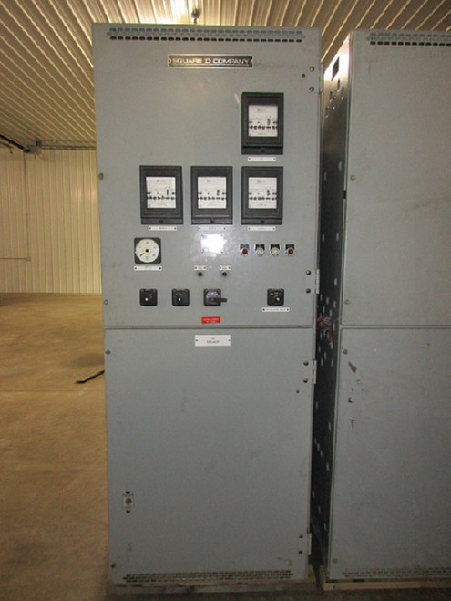 Square D Metal Clad Series 3 Switchgear Tie Section (#27)